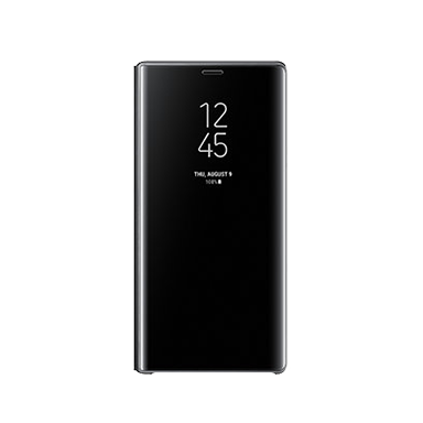 Galaxy Note9 Clear View Standing Cover Black Image